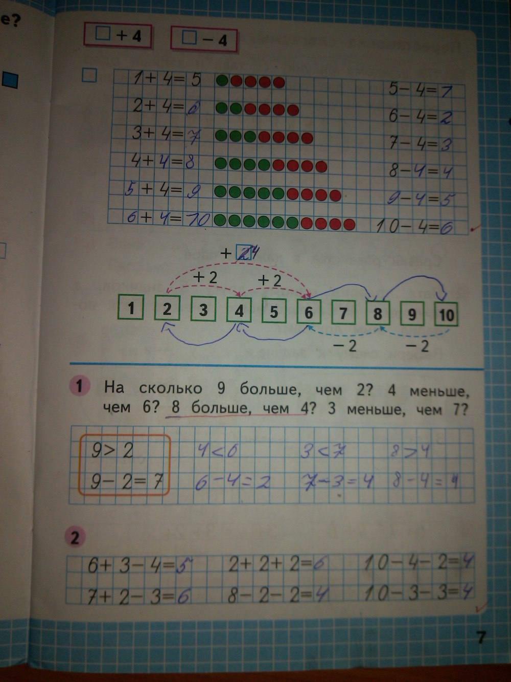 часть гдз по математике м.и.моро 1 с.и.волкова
