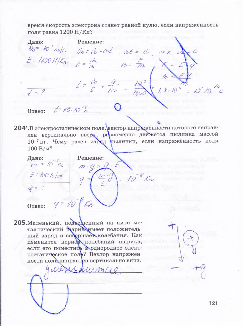 Гдз Физика 10 Класс Пурышев А