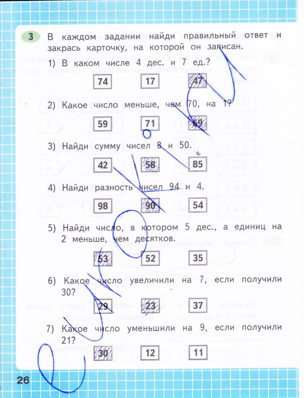 2 по математика готовые домашние класс задания тетрадь рабочая моро