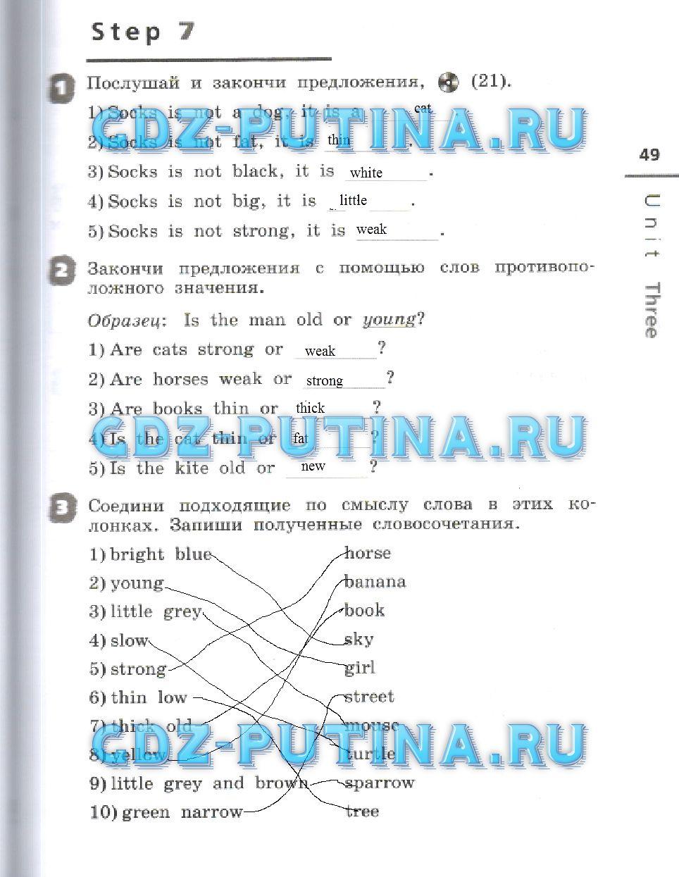 ГДЗ 1 класс Решебники Ответы Готовые Домашние Задания