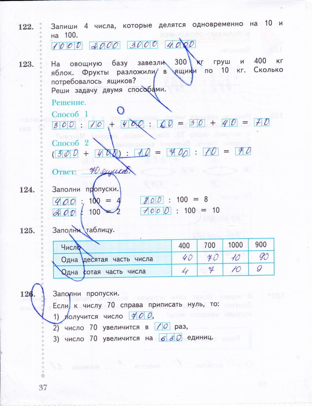 Гдз по математике 6 класс рабочая тетрадь по контрольным работам рудницкая 2
