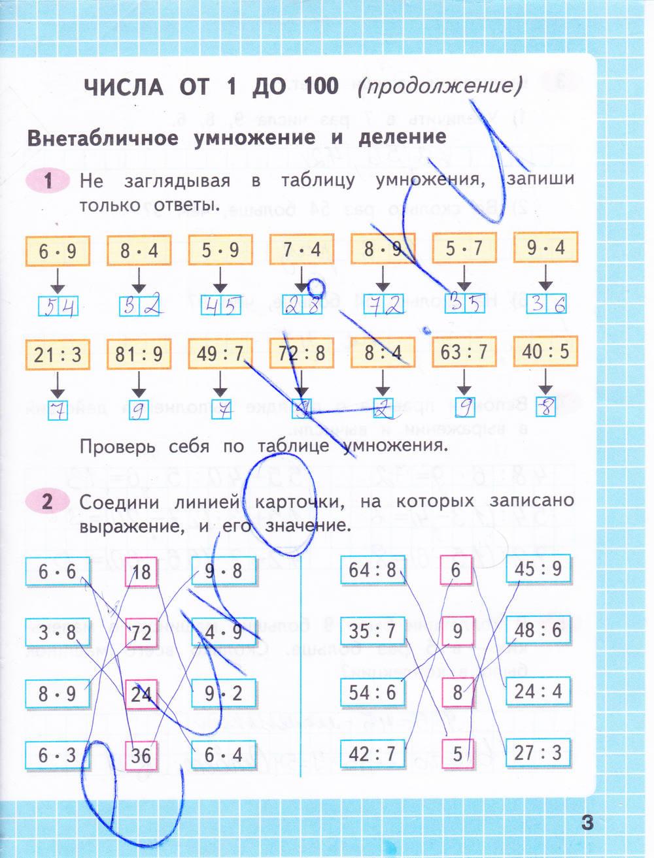Гдз по математике 3 класс рабочая тетрадь номер 2 моро