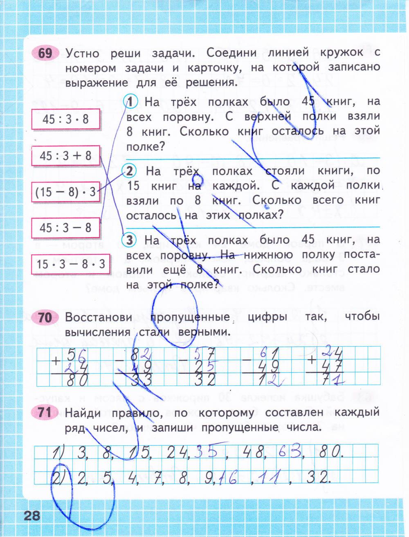 рабочая класс гдз математике 2 тетрадь и по моро 3 3 гдз м класс часть