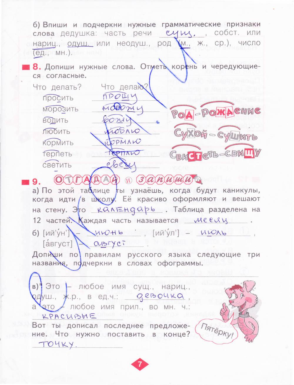Гдз по русскому 7 класс воскресенская