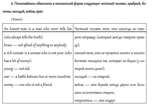 Гдз по английскому языку о.в афанасьева и.н.верищагина 6 класс