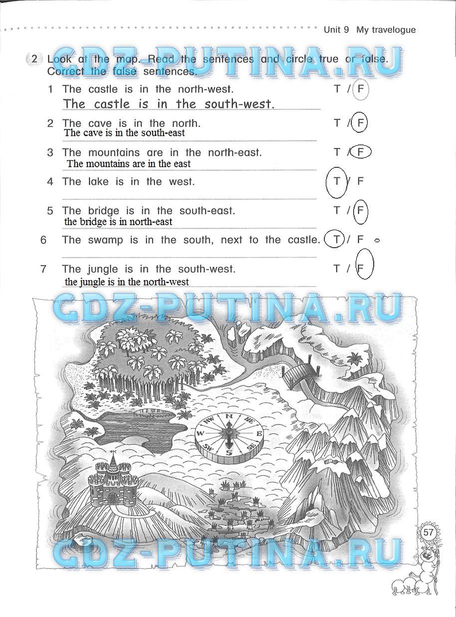 Гдз английский язык 3 класс азарова рабочая тетрадь ответы
