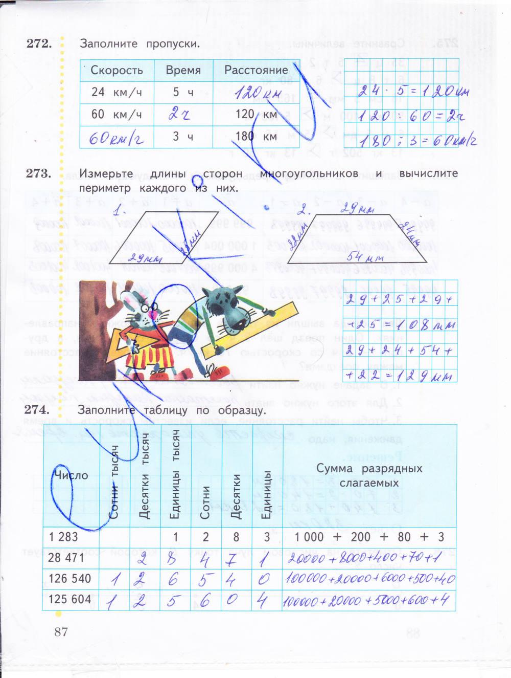 Гдз по математике 4 класс тетрадь в.н рудницкая