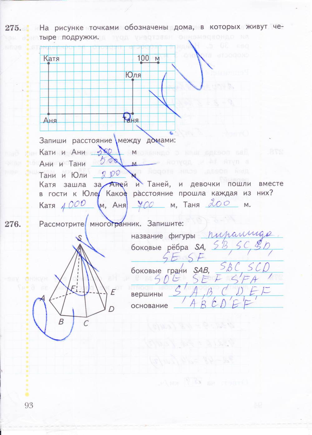 математика в.н.рудницкая 4 класс вентана граф решебник