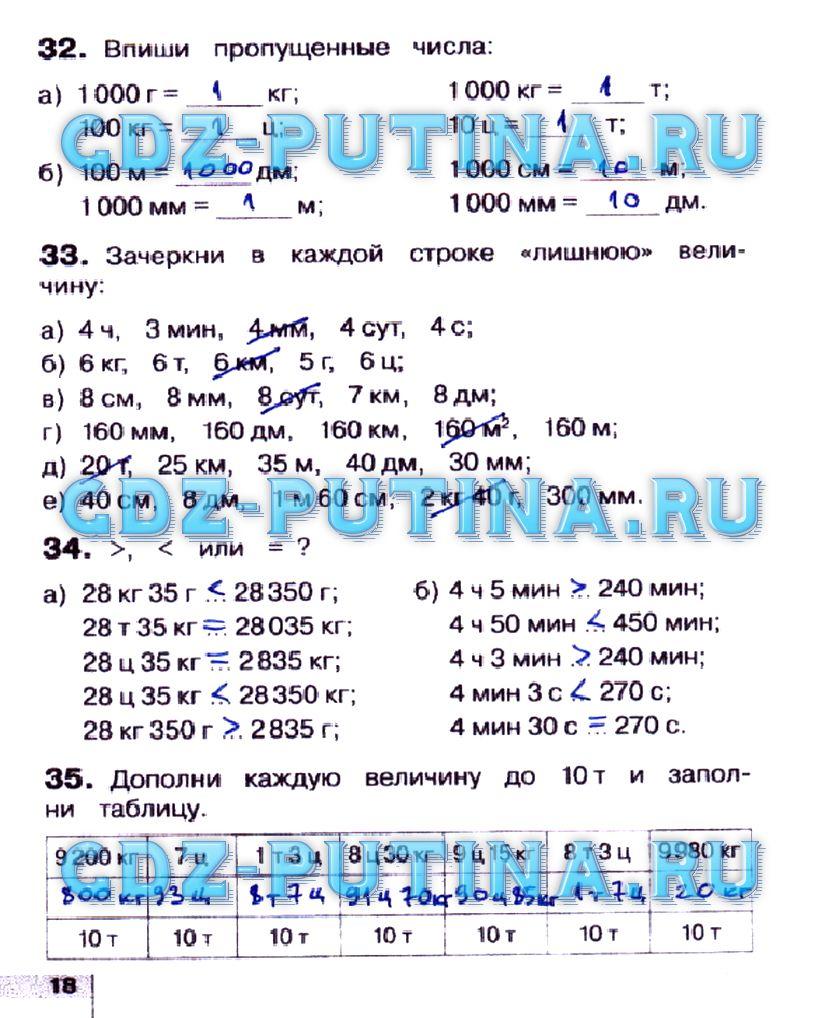 Тетрадь истомина класса редько 2 часть 4 математике рабочая решебник по