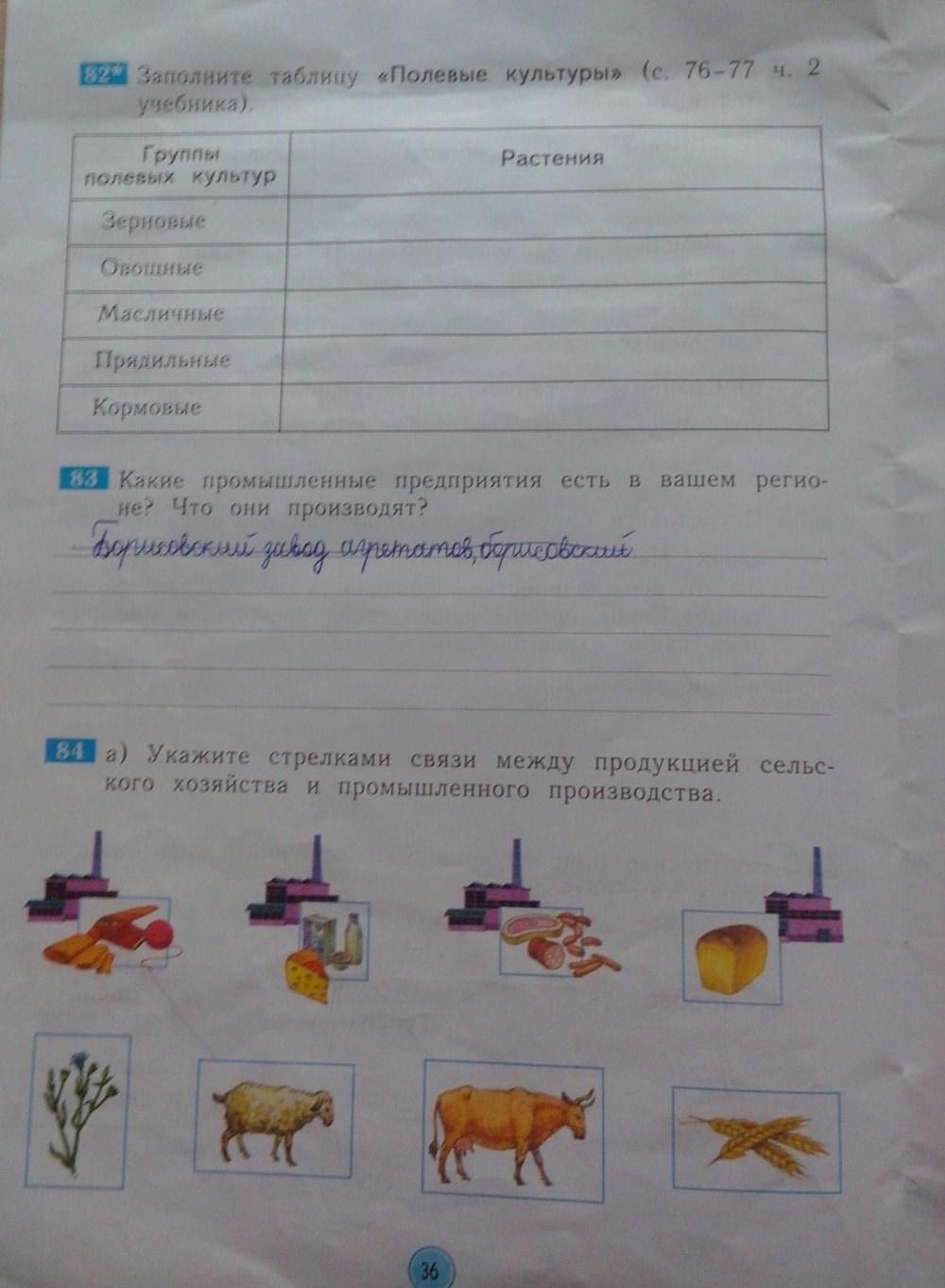 гдз казаков мир класс ответы дмитриева рабочая окружающий тетрадь ответы 4