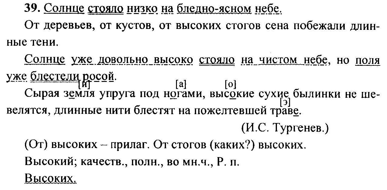 класс русскому тростенцова л.а материал по гдз языку 6 дидактический