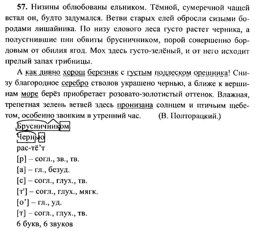 Гдз 57 Упр По Русскому