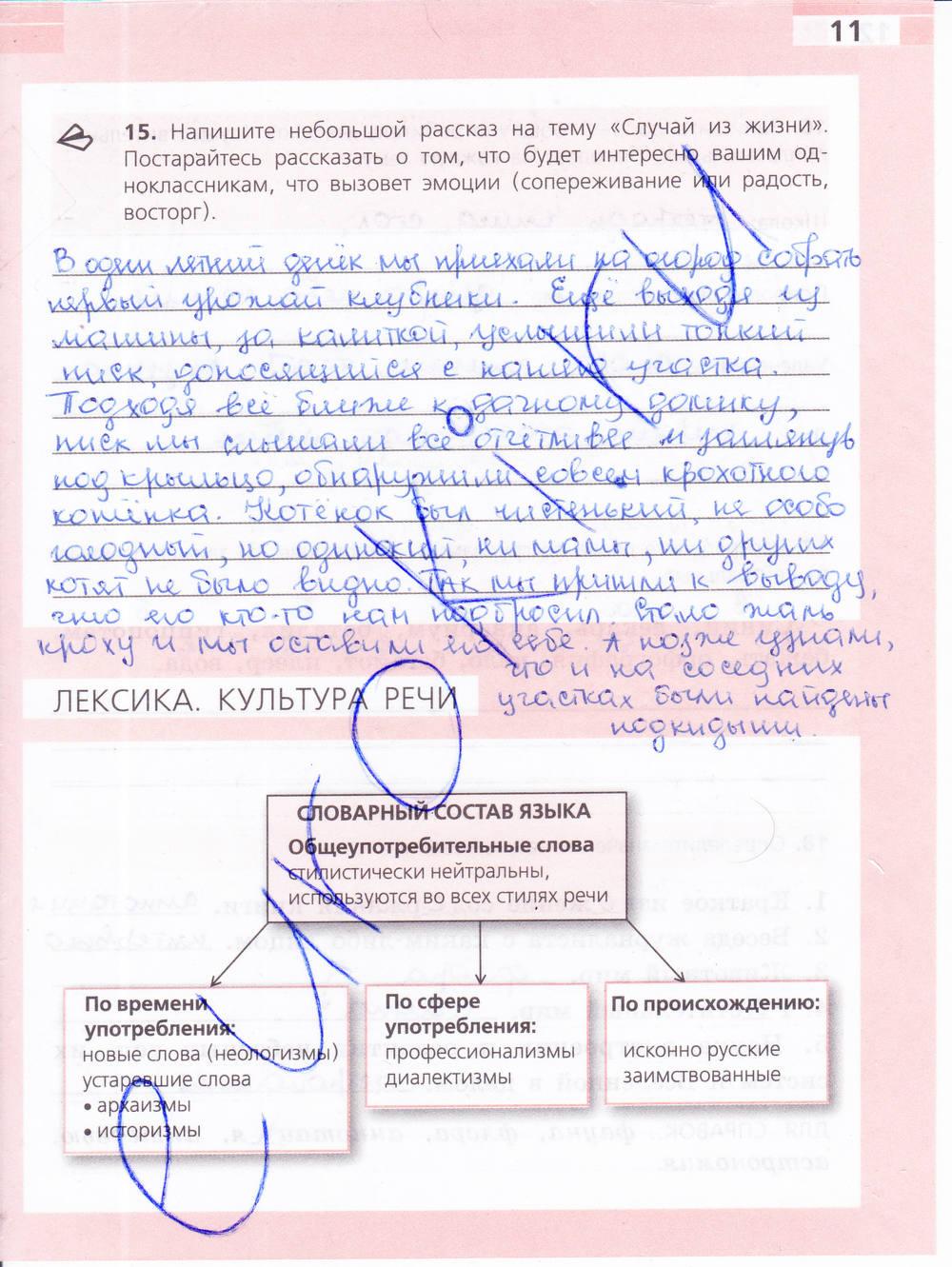Русскому ефремова 6 по гдз класс