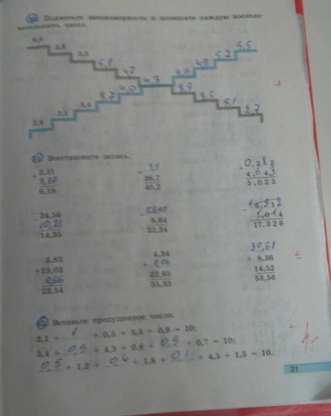 класс математике шарыгин по 5 минаева кузнецова дорофеев рослова гдз