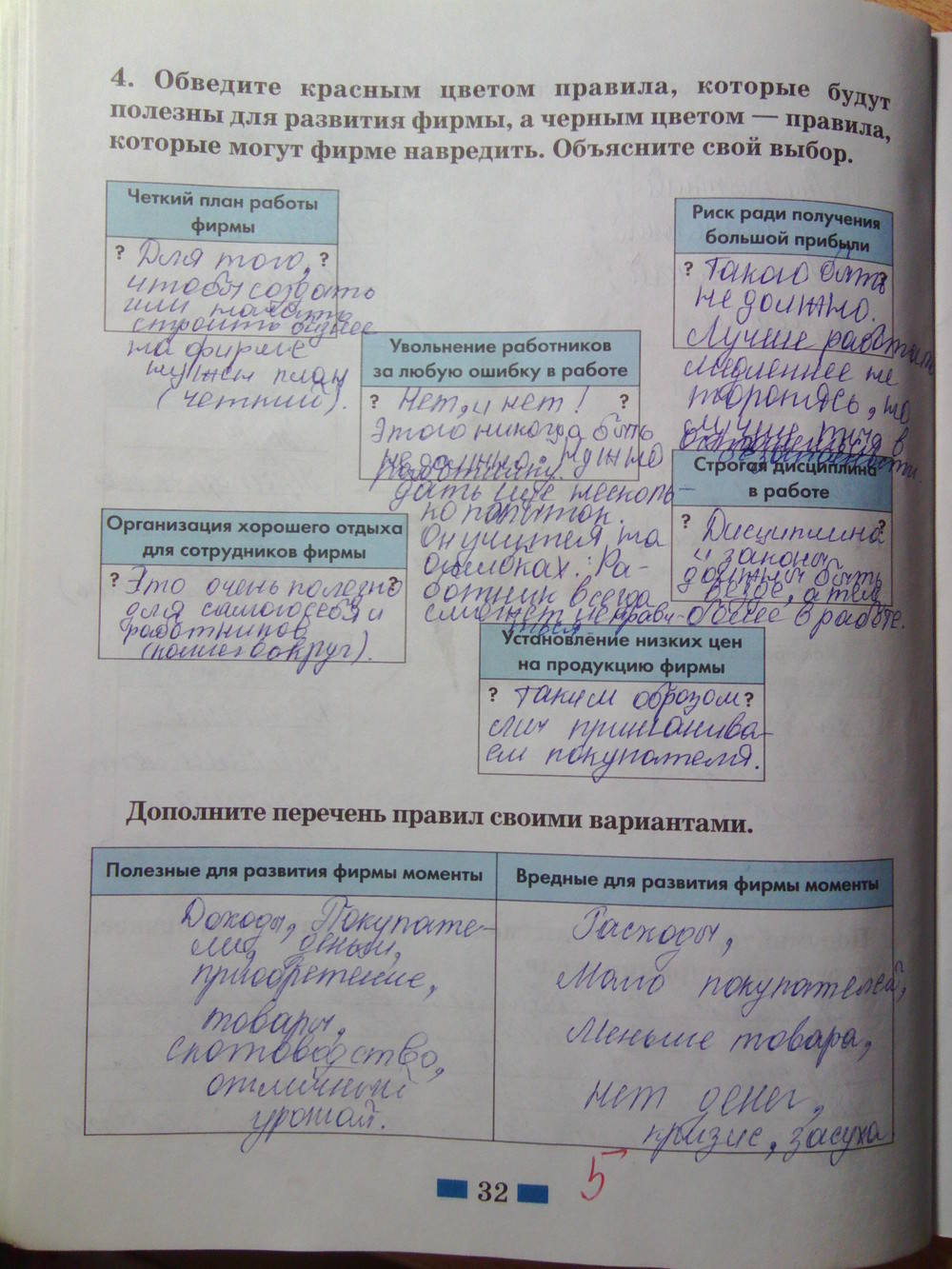 6 учебник по тетрадь обществознанию кравченко гдз певцова класс и рабочая