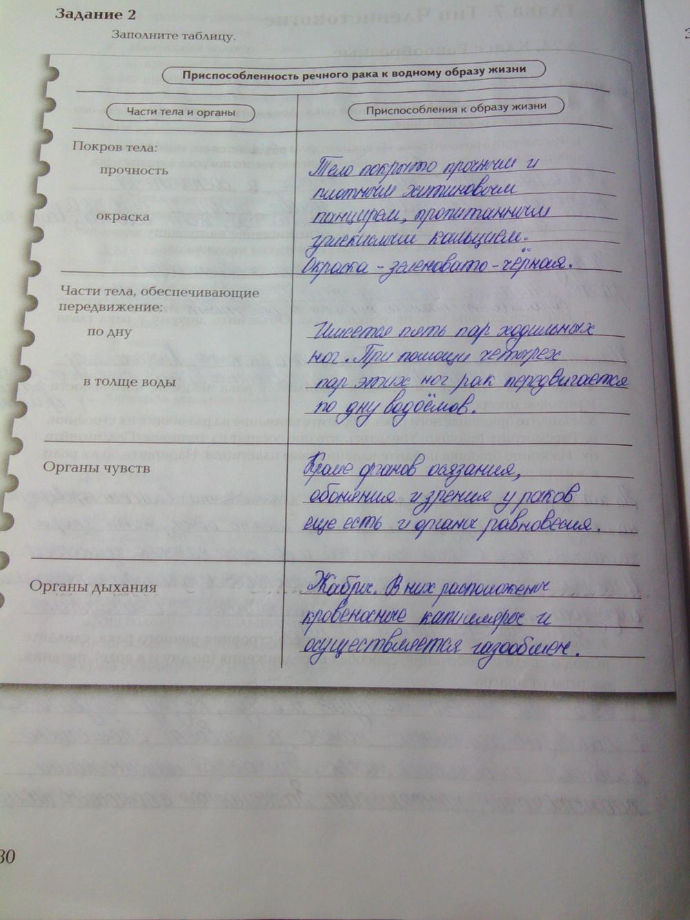 Биологии тетрадь фиолетовая по гдз суматохин кучменко