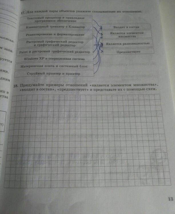 Рабочей тетради по класс босова 7 решебник