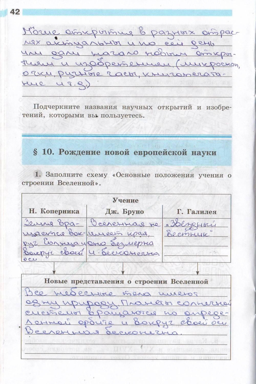 Страница таблица 7 баранов гдз история класс ванюшкина 91 юдовская