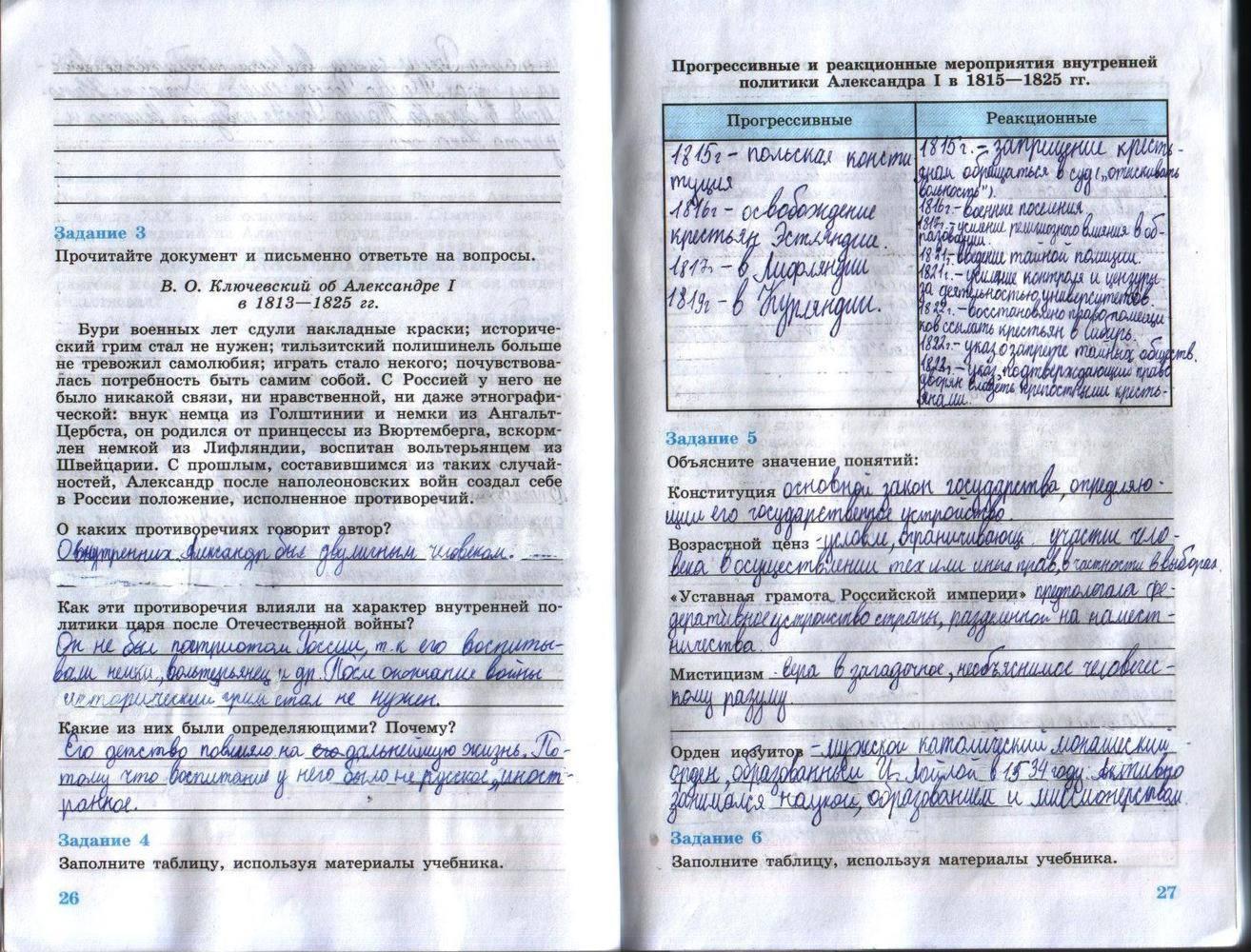 решебник по истории россии данилов косулина