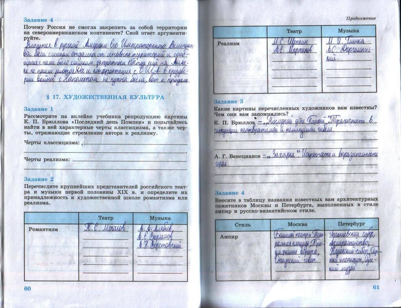 Гдз за 8 класс по истории россии рабочая тетрадь данилов косулина