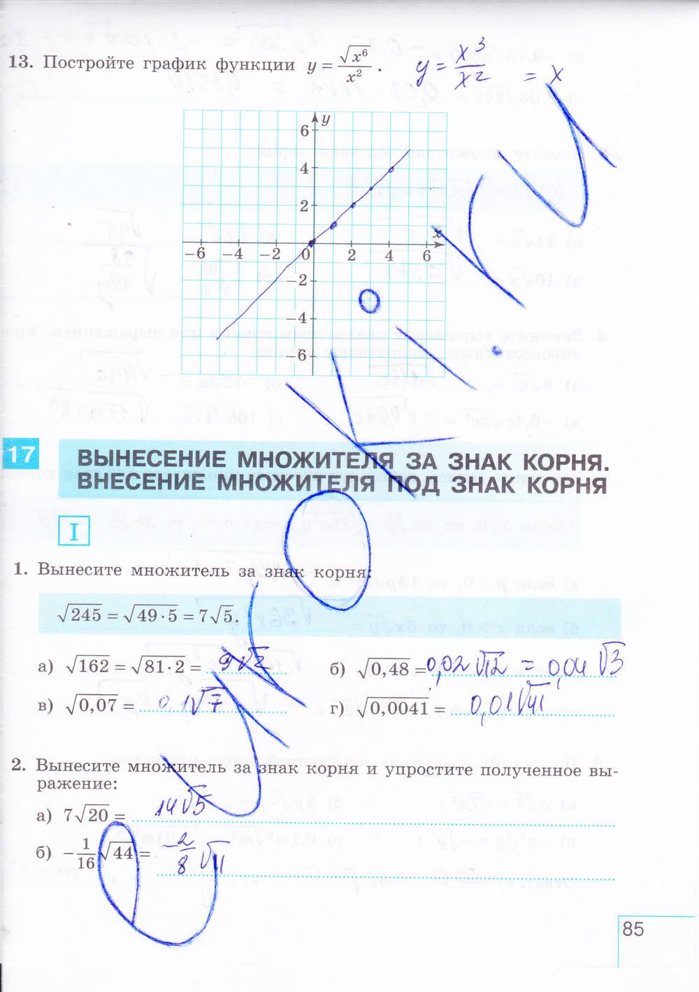 7 алгебра гдз класс часть и.с.шлыкова 2 тетрадь рабочая