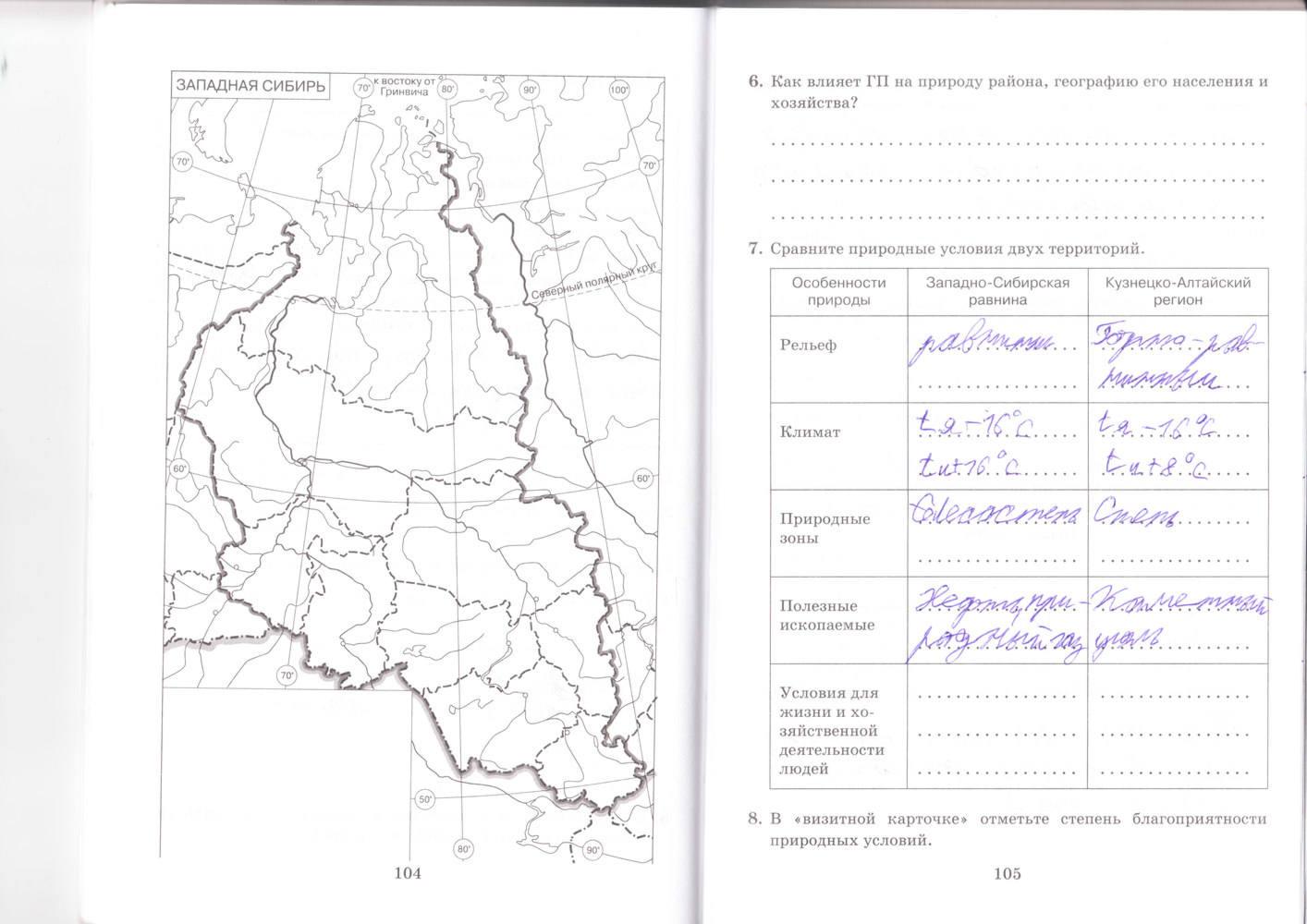 области гдз контурные карты ростовской