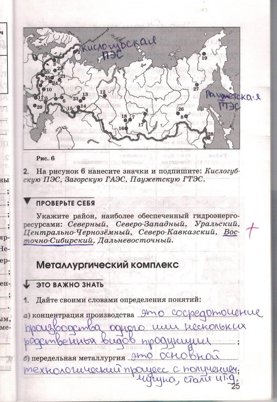 Гдз к тетради по географии 9 класс ким