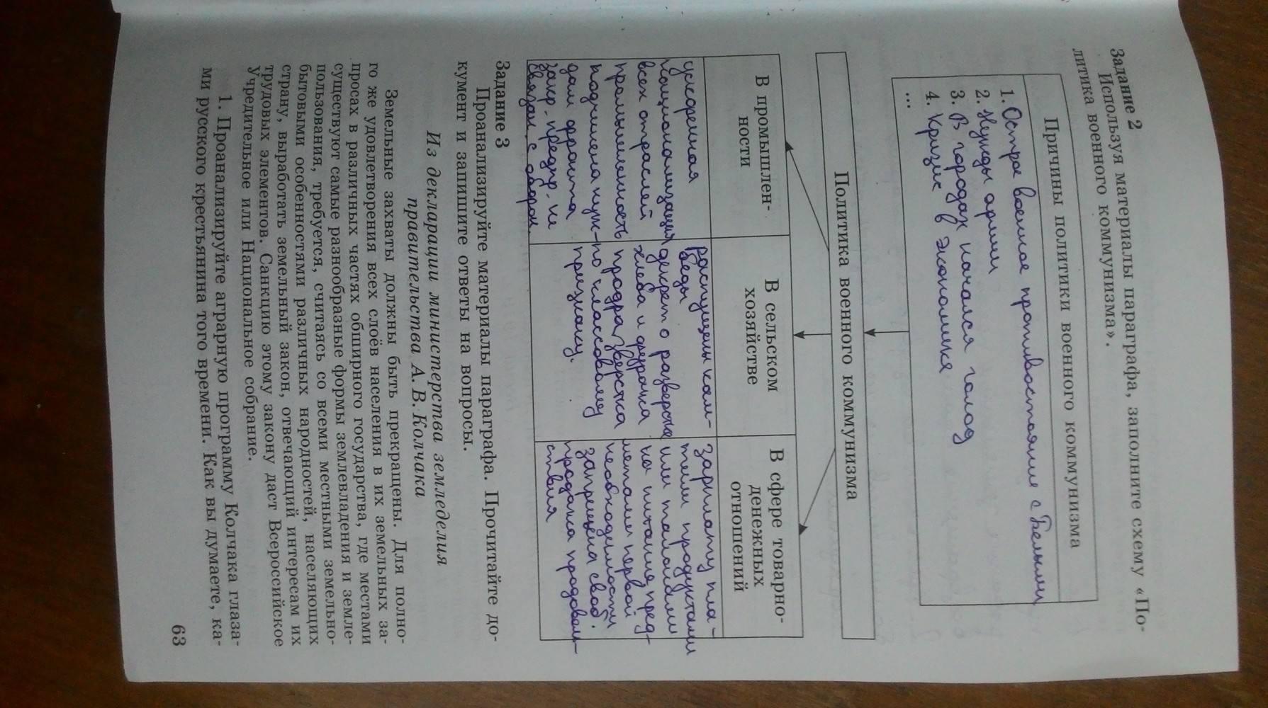 Гдз по истории россии 6 класс рабочая тетрадь арсентьев данилов косулина