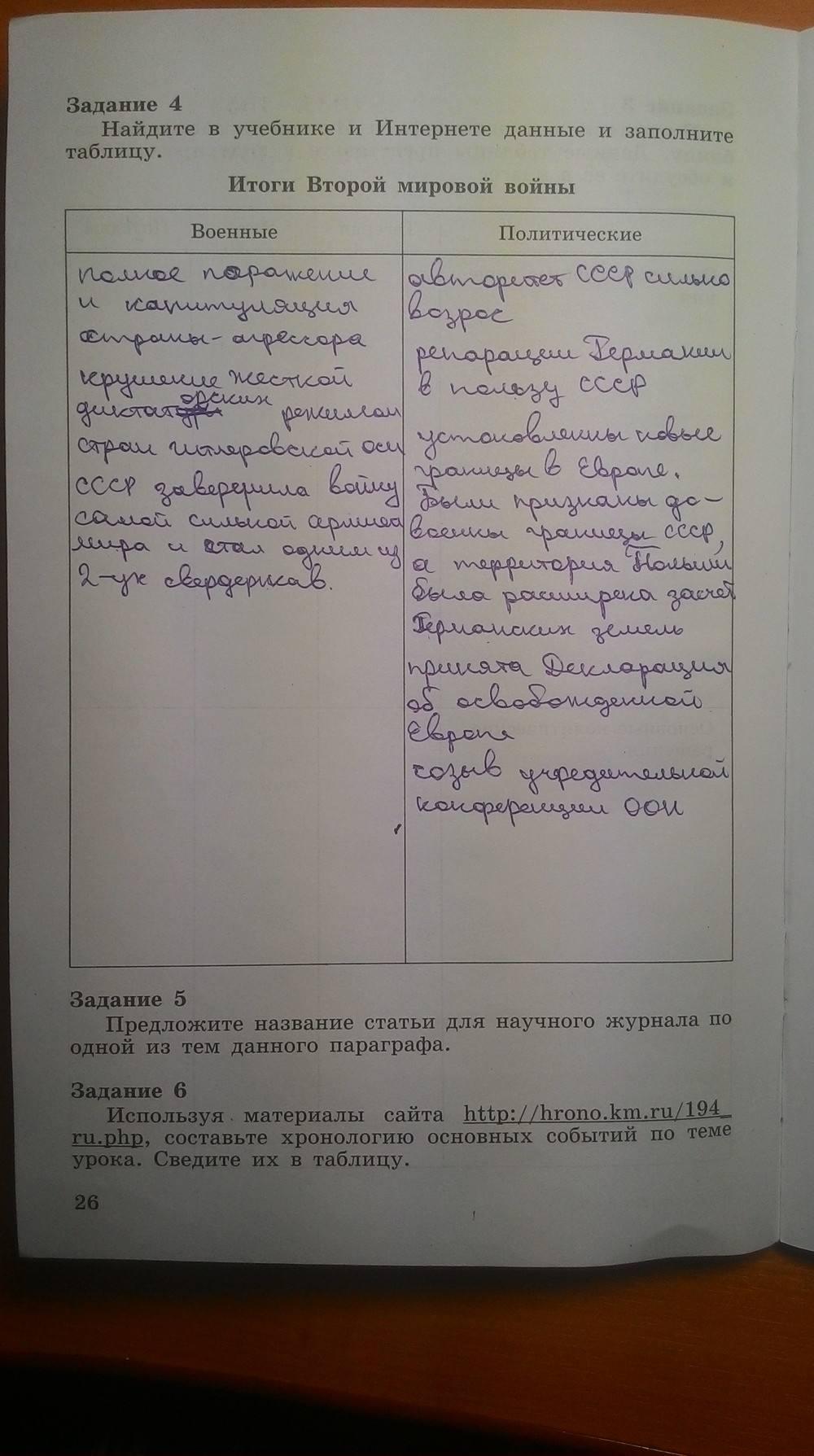 история 9 класс данилов учебник решебник