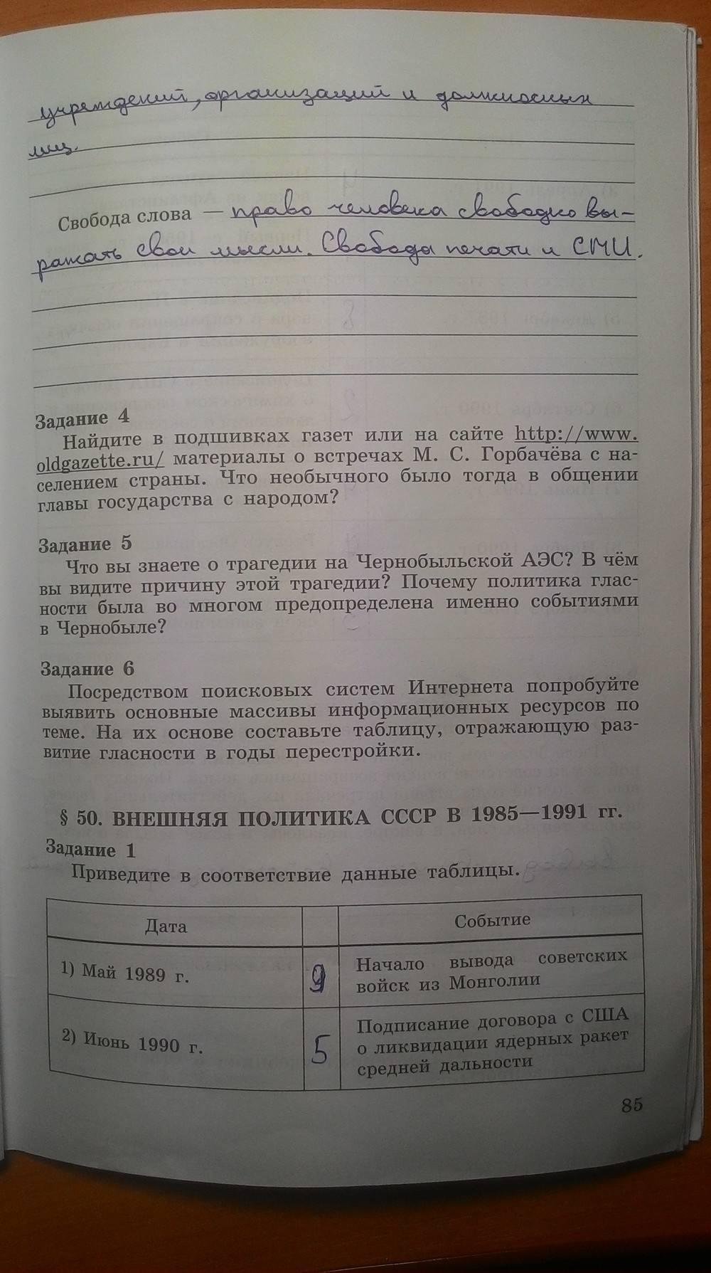 гдз история данилов 9 класс 2019