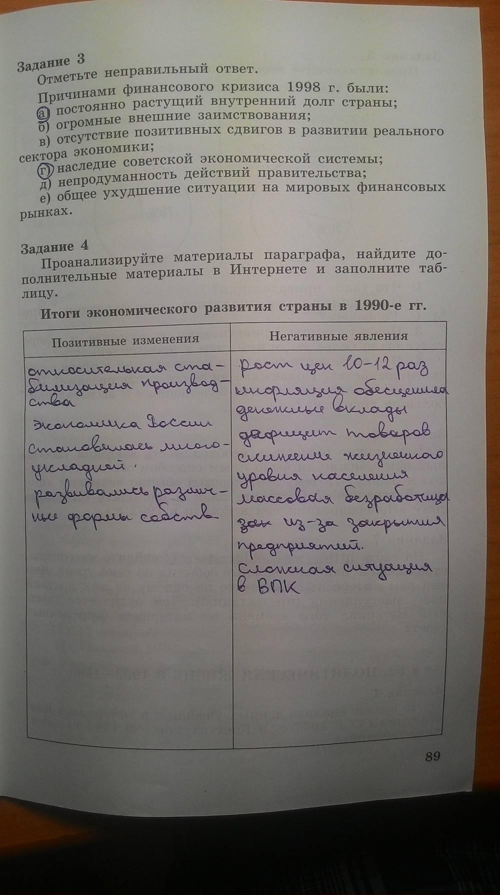 Гдз по истории а.а данилов л.г косулина 2 часть 8 класс